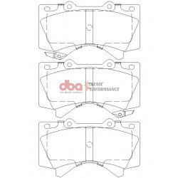 Купити Гальмівні колодки передні DBA Xtreme Performance для Toyota LC200/Lexus LX570 1838XP