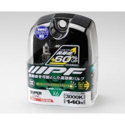 Купити Комплект лампочок IPF X6 Set H3-12V 140W 3000K Super Clear 6X21