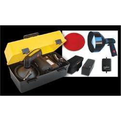 Купити Фара шукач LIGHTFORCE Walkabout Striker 170 з комлектом для автономної роботи і регулюванням яскравості, галоген 12V 30W WALKPBPS