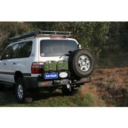 Купити Виносне кріплення запасного колеса KAYMAR до заднього бампера на праву сторону Toyota Land Cruiser 100 K8040UR