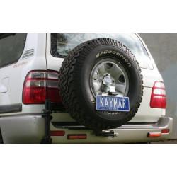 Купити Кріплення номерного знака KAYMAR до виносного кріплення запасного колеса Toyota Land Cruiser 105 K0175NP-Kit