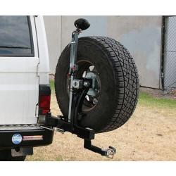 Купити Виносне кріплення запасного колеса KAYMAR до заднього бамперу на правую сторону Toyota Land Cruiser