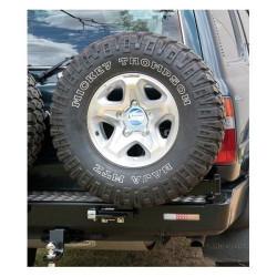 Купити Виносне кріплення запасного колеса KAYMAR для заднього бамперу на праву сторону Toyota Land Cruiser