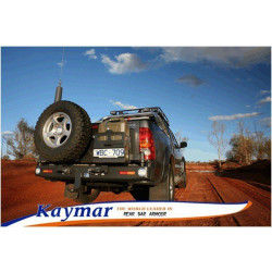 Купити Виносне кріплення каністри KAYMAR до заднього бамперу на праву сторону Toyota Hilux 05+ K1097