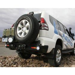 Купити Задній захисний бампер KAYMAR з двома штоками TLC120 K3705