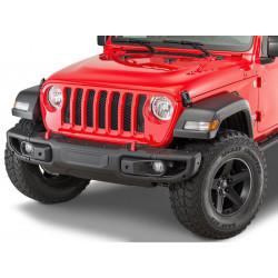 Купити Бампер передній сталевий OFD - Jeep Wrangler JL з місцем під лебідку OFJLFBS014B