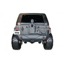 Купити Задній Steel бампер Tire Carrier GO INDUSTRIES - Jeep Wrangler JK