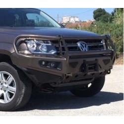 Купити Бампер передній с креплением під лебідку і протитуманними фарами AFN - Volkswagen Amarok