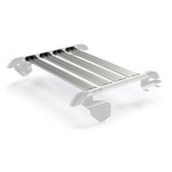 Купити Багажник на дах Nebo Roof Rack Cargo Slat Silver Teraflex Jeep Wrangler JK 2 Doors