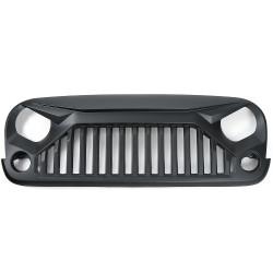 Купити Решітка чорна матова OFD - Jeep Wrangler JK 07-18