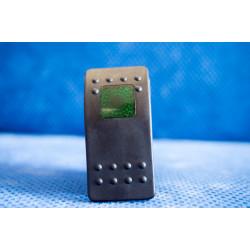 Купити Тумблер переключатель вкл/выкл - індикатор зелений