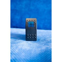 Купити Тумблер перемикач вкл/викл - індикатор синій