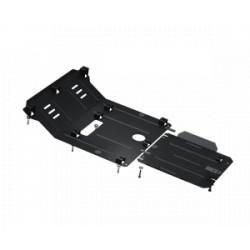 Купити Захист двигуна КПП радіатора раздатки редуктора Kolchuga для Nissan Navara IV D23 2014-2019 2.3 DCI