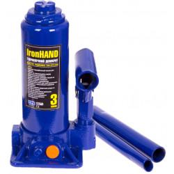 Купити Домкрат гідравлічний пляшковий Vitol 3 т 194-345 мм T90304 / ДБ-03006