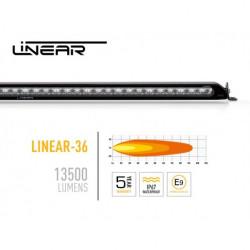 Купить Комплект крепления на крышу Linear-36 Ford Ranger с рейлингами LAZER 3001-Ranger