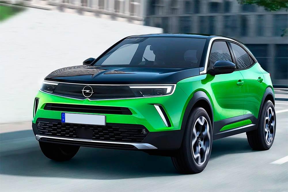 Абсолютно новий кросовер Opel Mokka здивував технологічним салоном