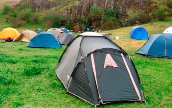 Как сложить палатку?