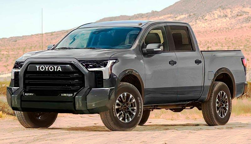 Нова Toyota Tundra без маскування