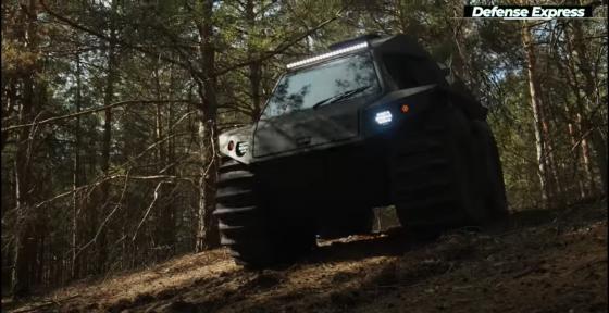 Nomad для украинской армии: неистовый вездеход без ограничений (Оптика Lazer)