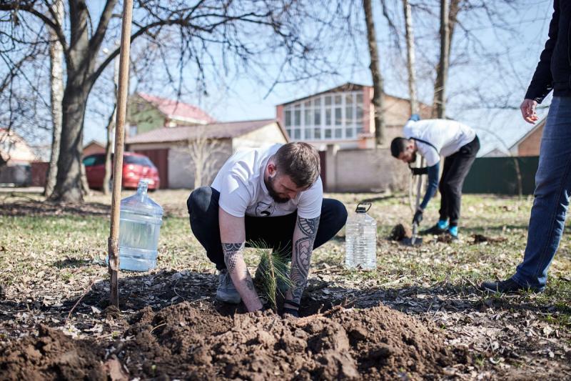 Компания Vnedorognik.ua приняла участие во всемирной акции «1 млн деревьев за 1 день в 100 городах мира» image 5