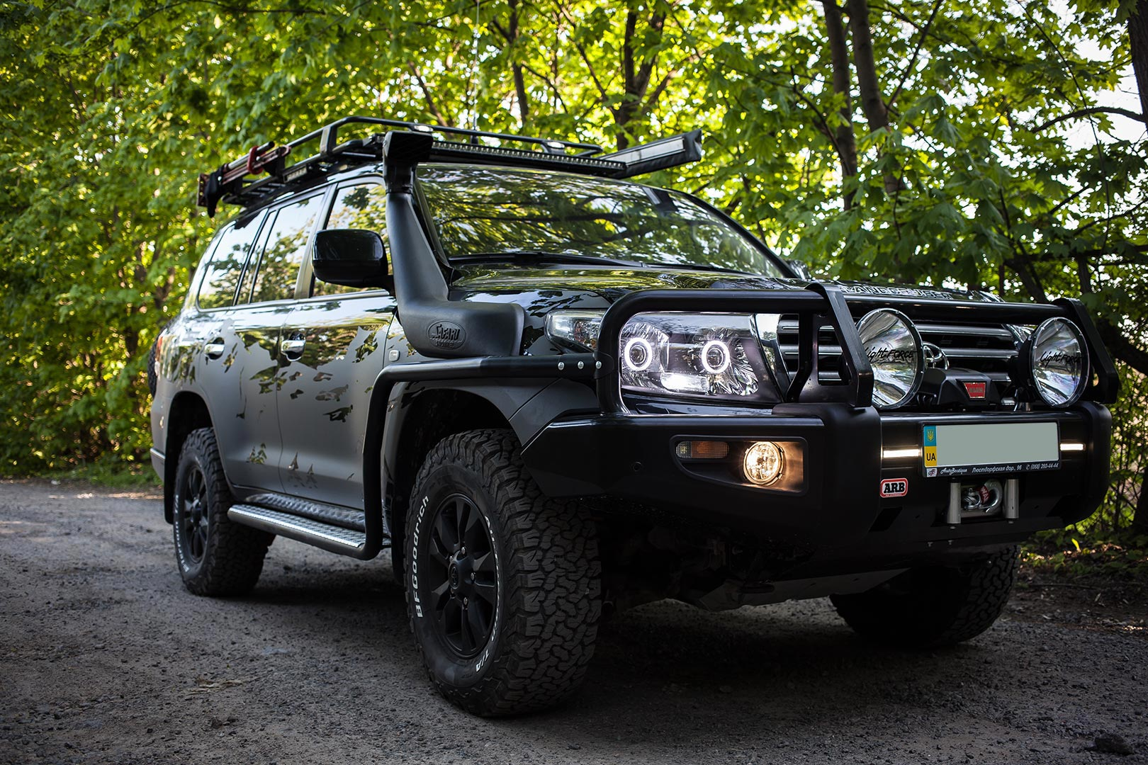 Тюнінг Toyota L200 Off-road Style