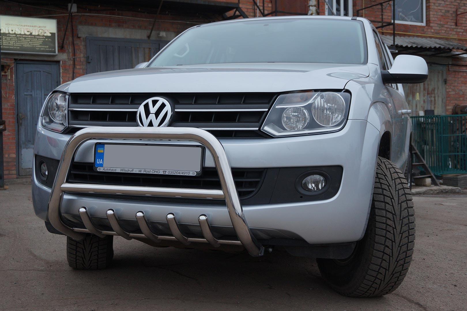 Тюнінг VW Amarok кенгурятник пороги кунг корито в кузов