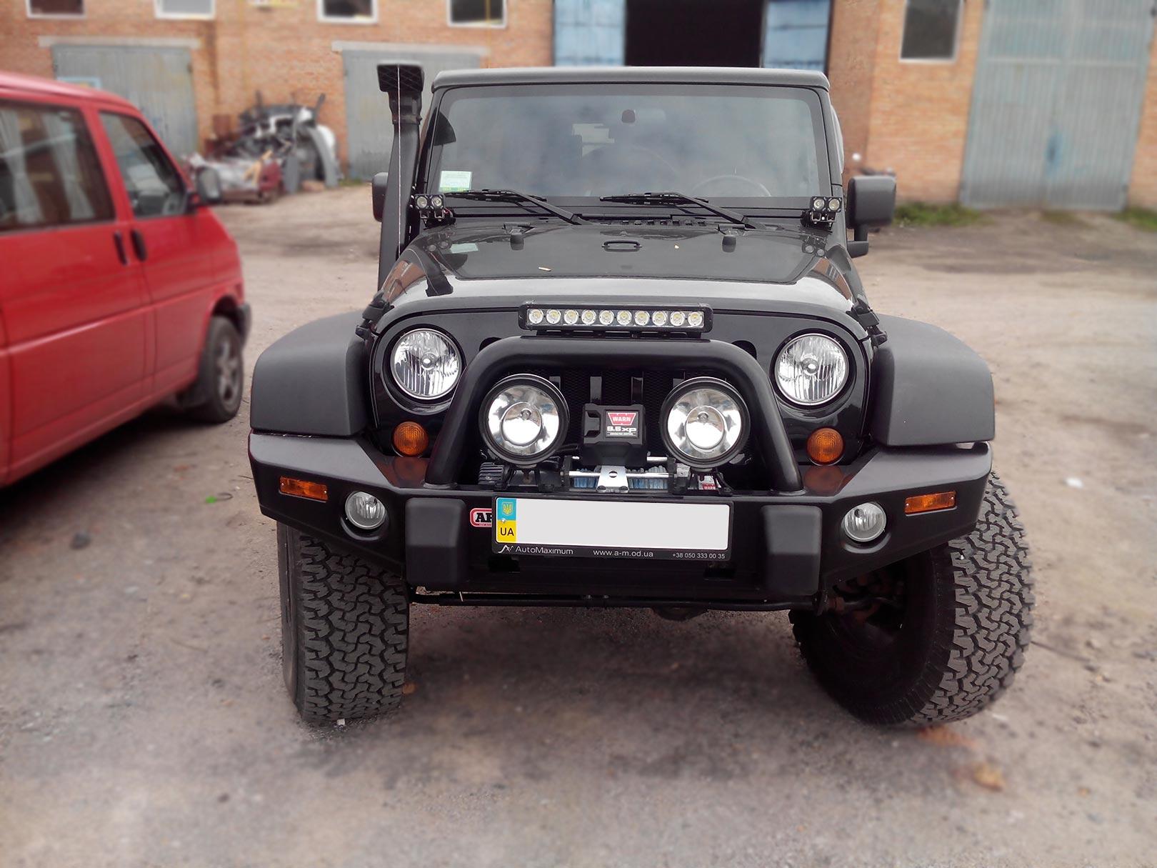 Тюнінг позашляховика Jeep Rubicon фото і деталі