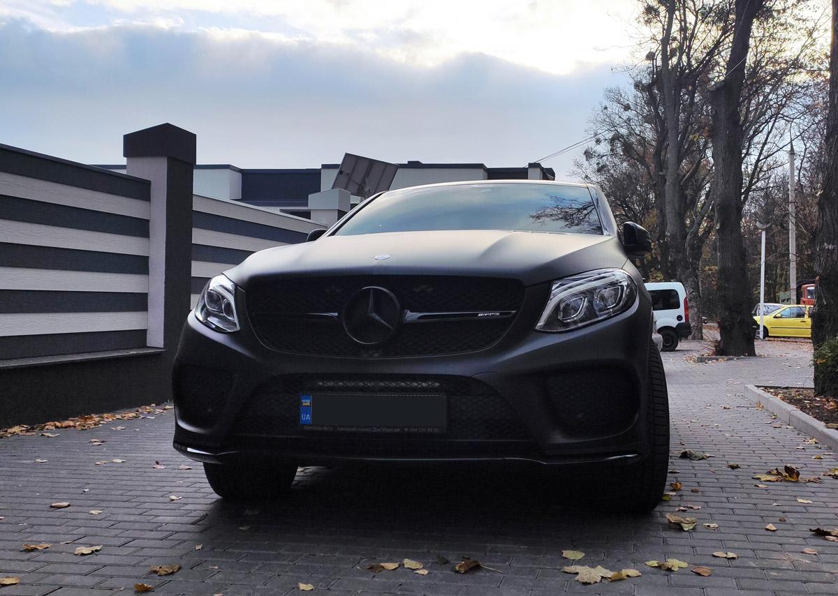 Тюнинг Mercedes-AMG GLE оптикой Lazer Lamps