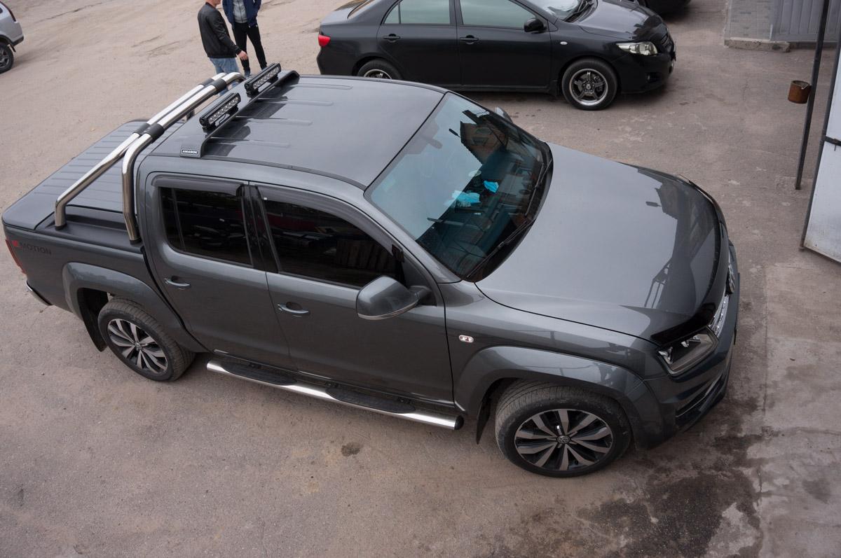Тюнинг Volkswagen Amarok оптикой Lazer