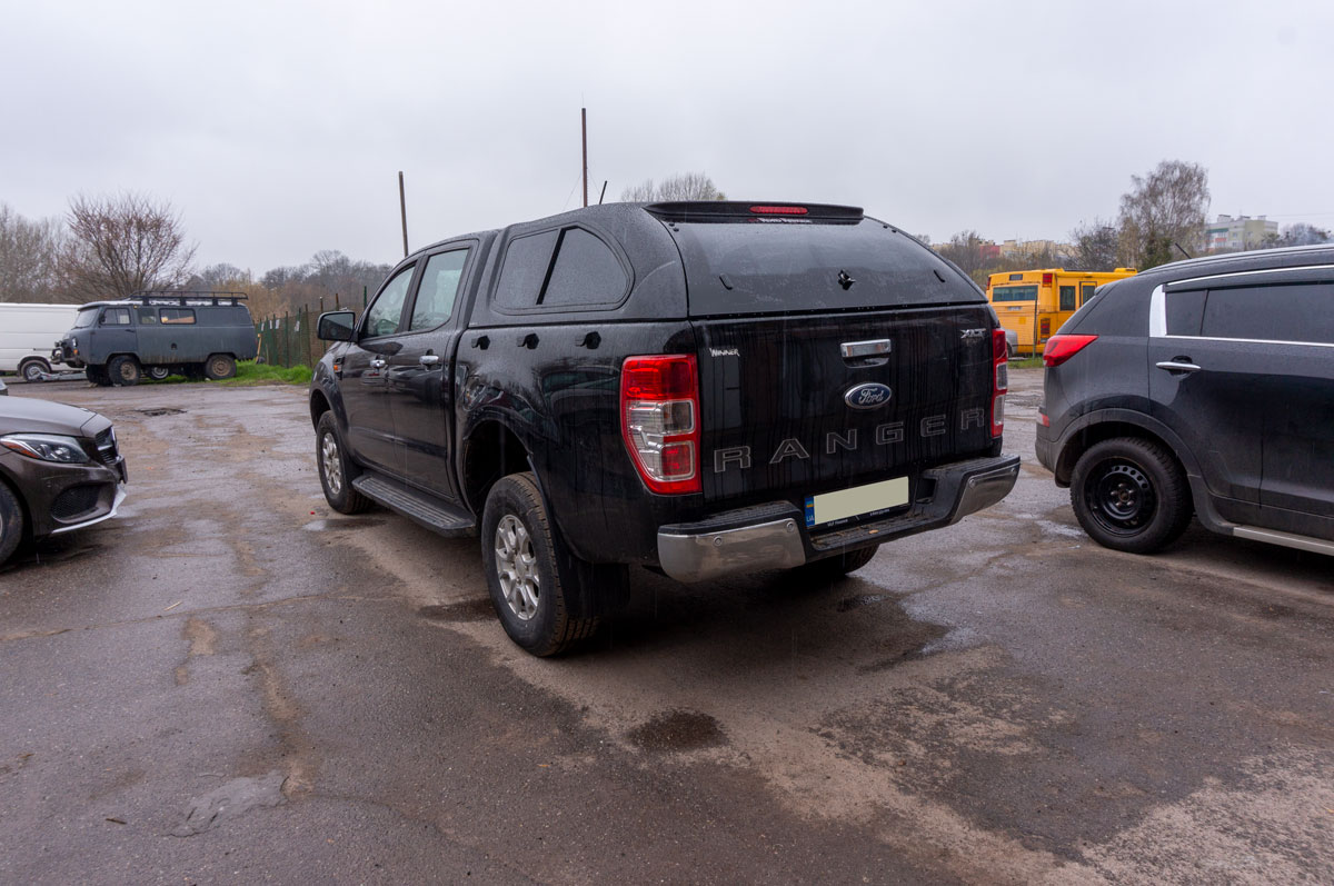 Установка кунга на Ford Ranger (Форд Ранджер) image 8