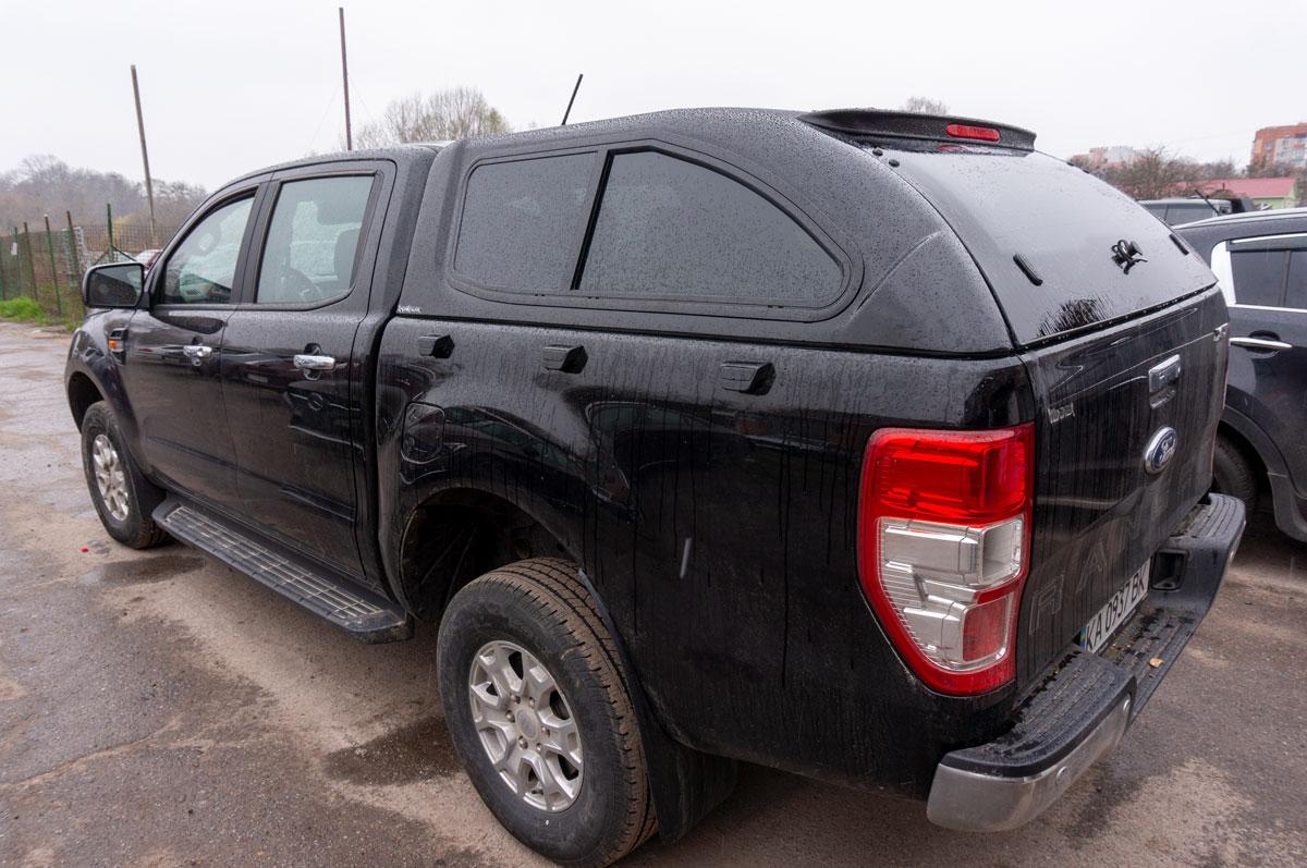 Установка кунга на Ford Ranger (Форд Ранджер) image 2