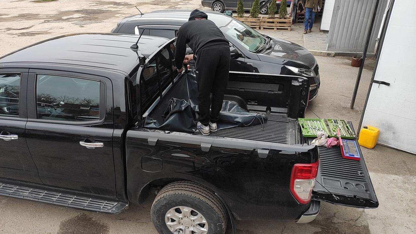 Установка кунга на Ford Ranger (Форд Ранджер) image 1