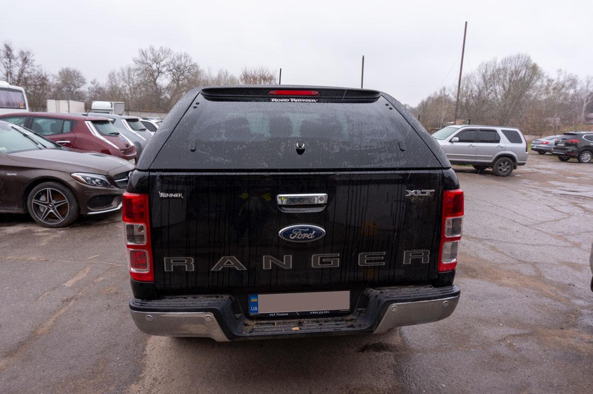 Установка кунга на Ford Ranger (Форд Ранджер) image 3
